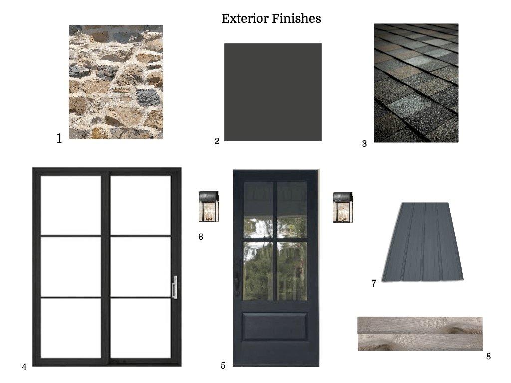 Finishing Materials, Choose the best look for your house